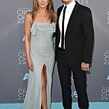 Jennifer Aniston and Justin Theroux Smolder at the Critics' Choice Awards