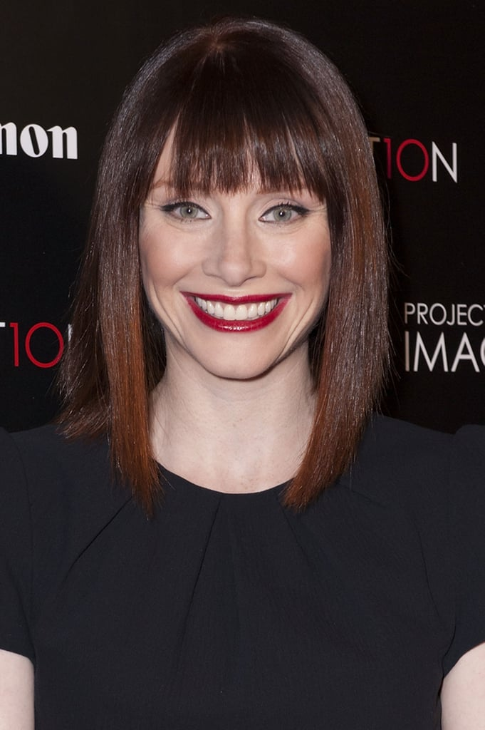 Bryce Dallas Howard With Dark Auburn Hair
