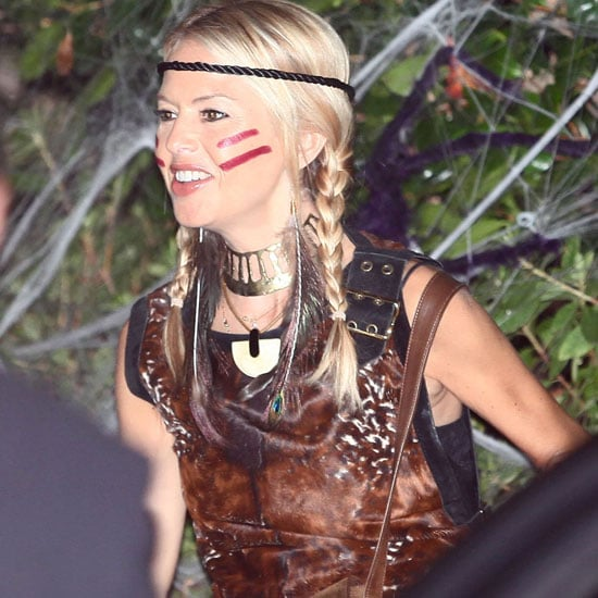 Rachel Zoe was a high-fashion Pocahontas in 2010 at Kate Hudson's Halloween party.