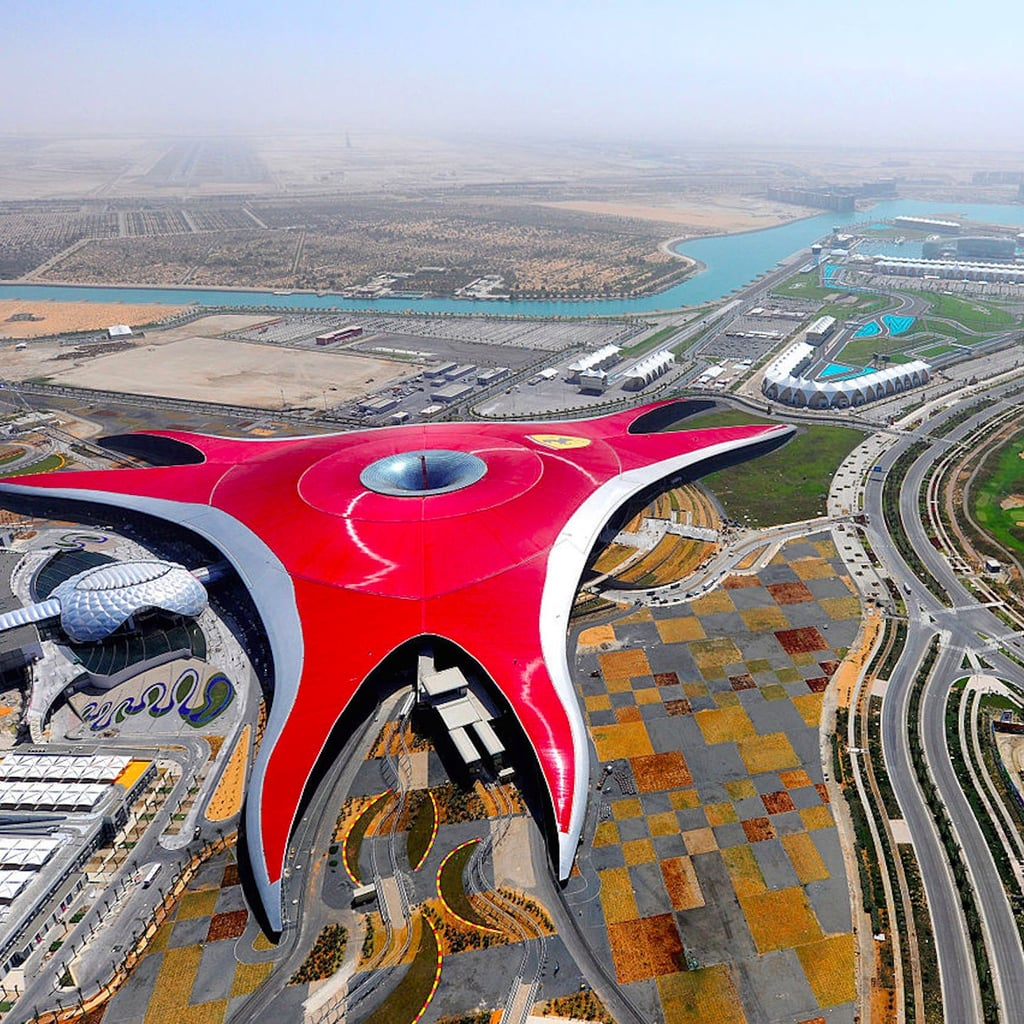 Turbo Track Opens in Abu Dhabi's Ferrari World