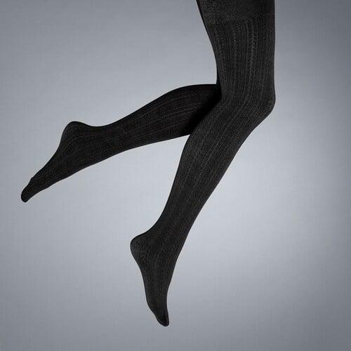 Simply Vera Vera Wang Cable Knit Fleece Lined Tights