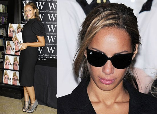 Photos of Leona Lewis Crying at Book Signing