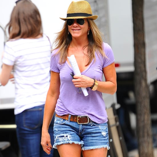 Jennifer Aniston Summer Shoes