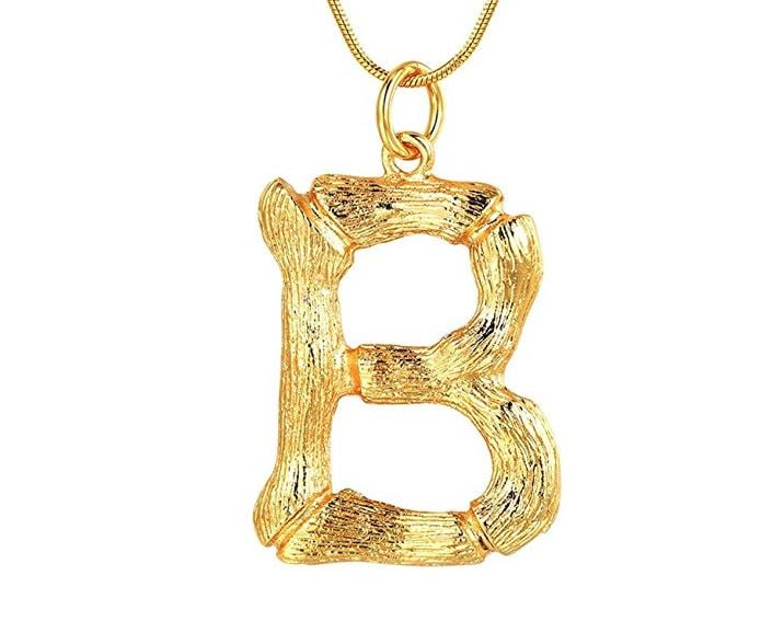 3badeadb89c8c Cheap Version of Celine Alphabet Necklace   POPSUGAR Fashion Australia