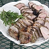 Grilled Pork Tenderloin With Rosemary and Red Pepper Sauce
