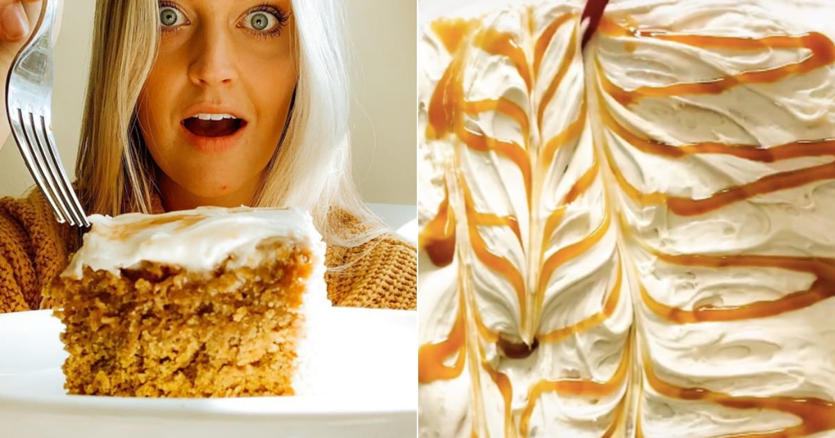 This Salted-Caramel Pumpkin Oatmeal Cake Recipe Is a Must Bake This Fall