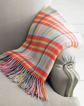 Williams-Sonoma Home Madras Cashmere Throw