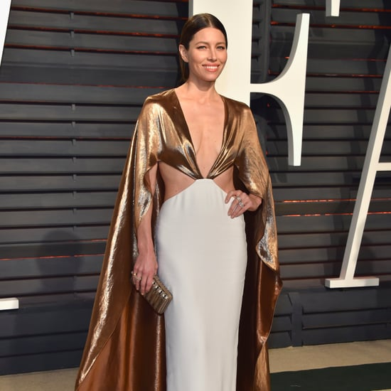 Jessica Biel's Oscars Afterparty Dress 2017