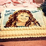 "Andrea: ""I think everybody needs a cake like this on their birthday. 1989. @candacecbure #throwbackthursday"""