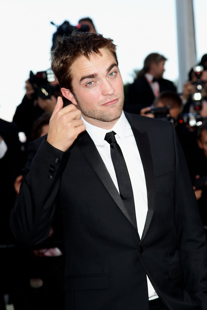 Robert Pattinson attended girlfriend Kristen Stewart's On the Road premiere at the Cannes Film Festival.