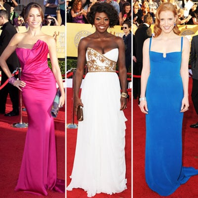 Top Trends on SAG Awards Red Carpet 2012