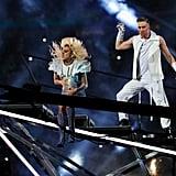 Lady Gaga Hair and Makeup Super Bowl 2017
