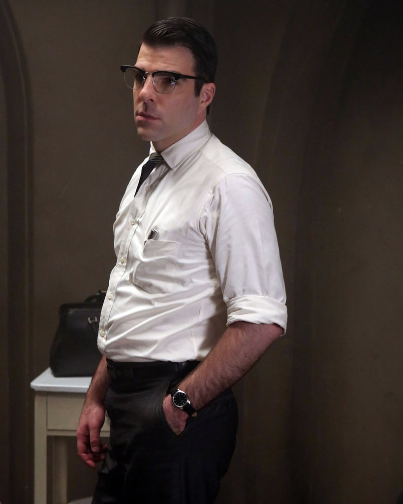 Quinto as Dr. Oliver Thredson in Asylum