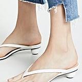 Alchimia di Ballin Vernice Thong Sandals