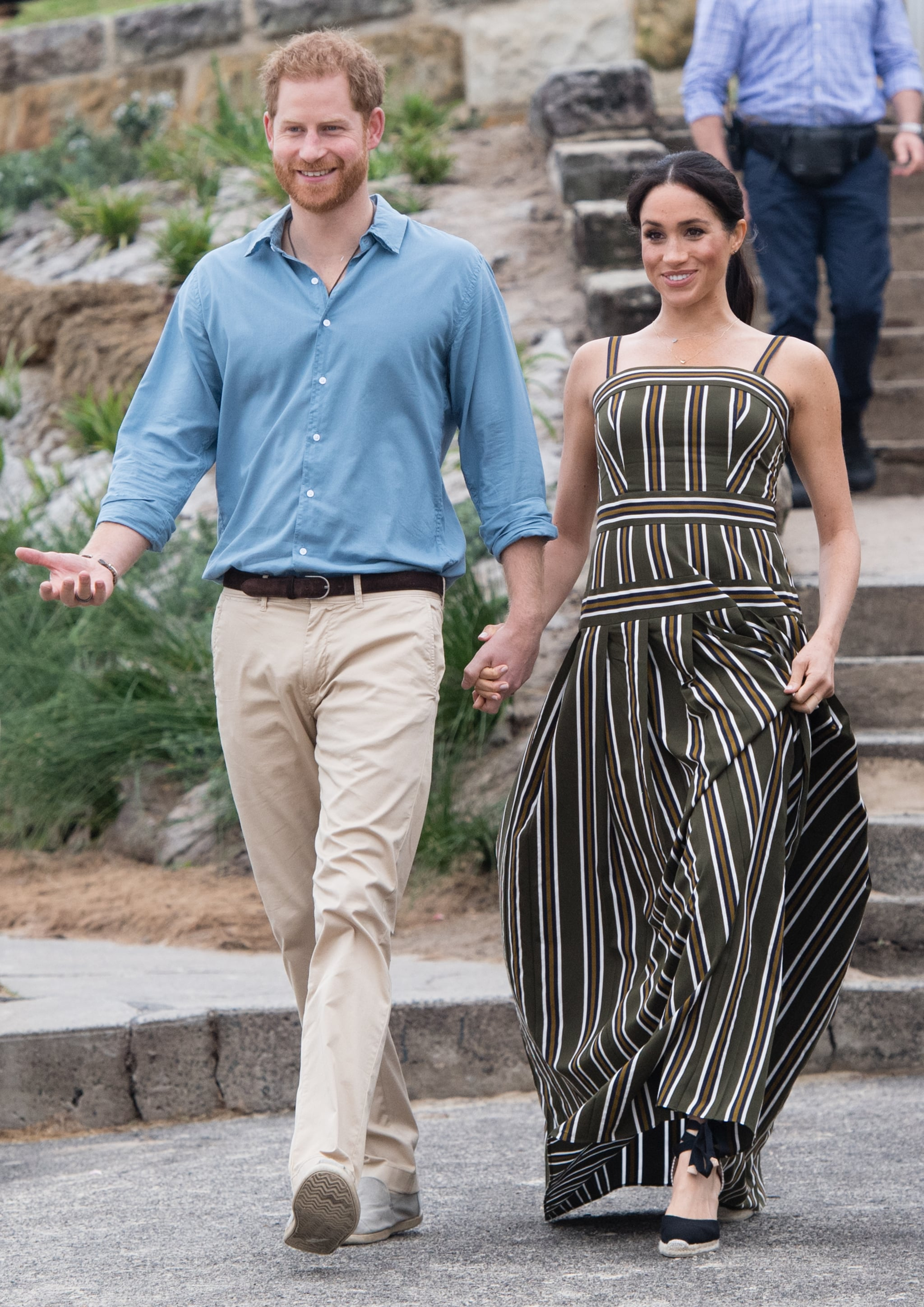 The Beach Dress From Beach Dresses To Ballgowns Meghan Markle S Maternity Style Was Totally On Point Popsugar Fashion Photo 160