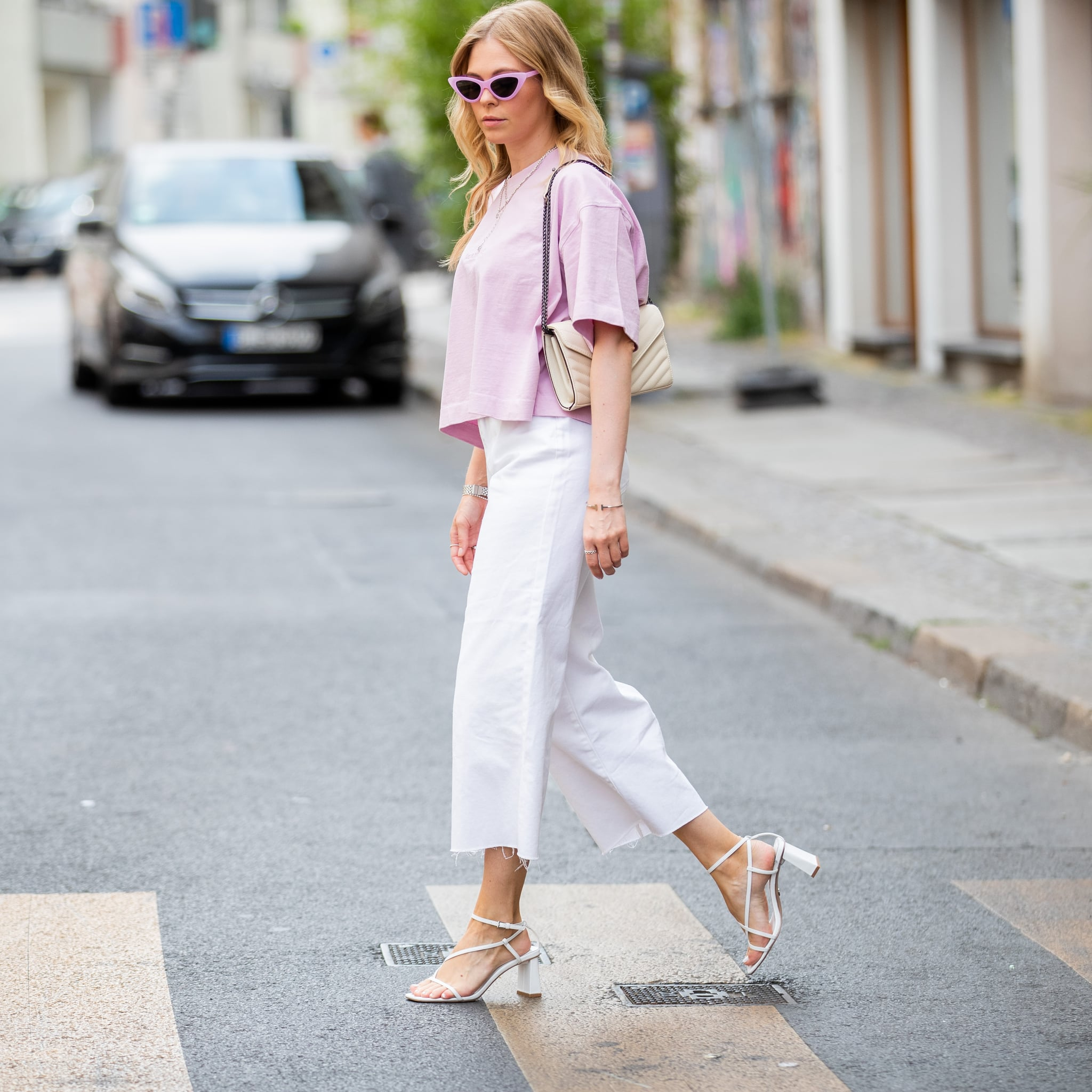 How to Wear Jeans and Sandals | POPSUGAR Fashion Australia