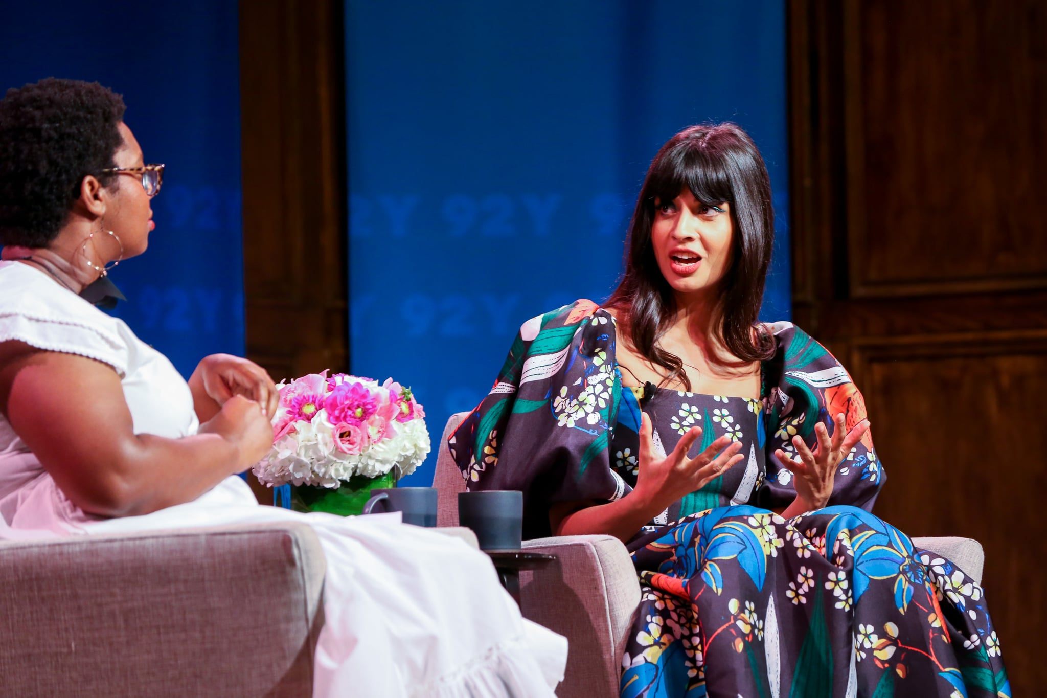 Jameela Jamil 92Y Panel