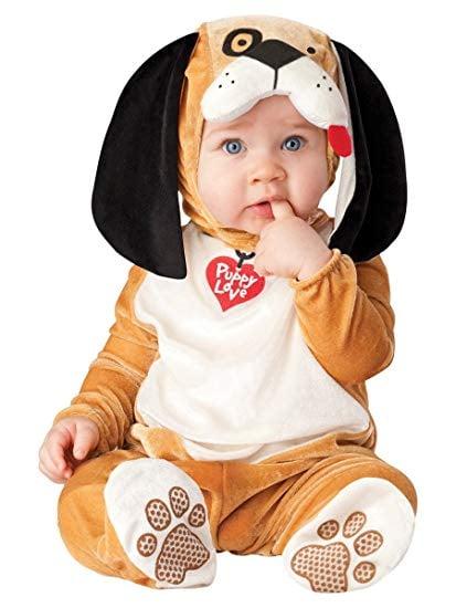 Toddler Halloween Plush Cuddly Playful Puppy Baby Fancy Dress Costume Animal Dog