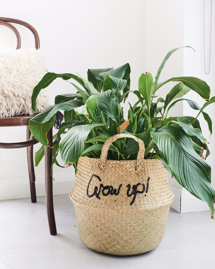 Seagrass Basket Kmart DIY