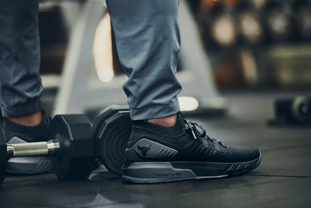Buy the Project Rock 3 Training Shoe in Black