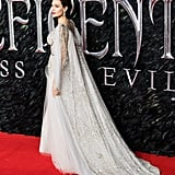 Angelina Jolie at the Maleficent: Mistress of Evil Premiere in London