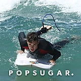 Louis Tomlinson and Liam Payne Surfing in Australia