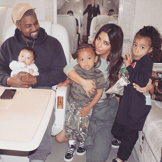 Kim Kardashian and Kanye West Family Photo April 2018