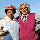 Oprah posed with Tyler Perry, who was in costume as his character Madea. Source: Instagram user oprah