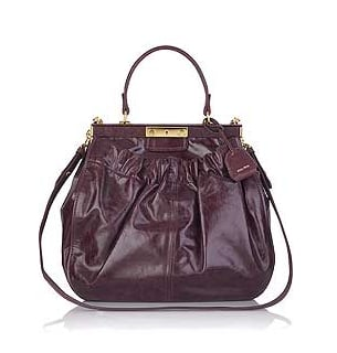 Simply Fab: Miu Miu Ruched Frame Bag