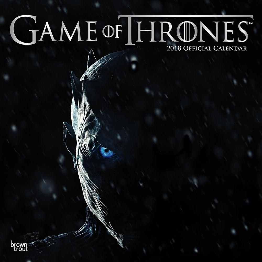 Game of Thrones 2018 Wall Calendar