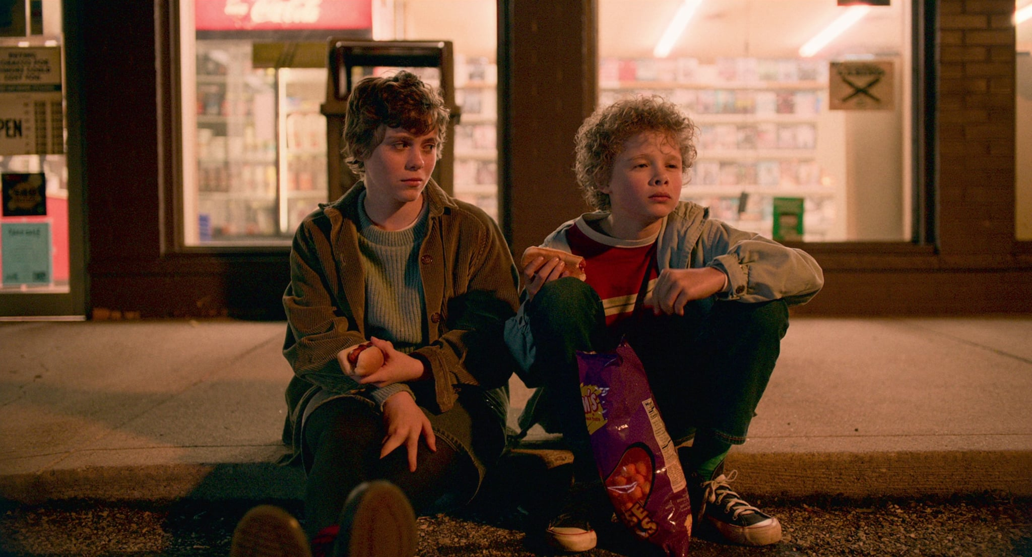 I AM NOT OKAY WITH THIS, from left: Sophia Lillis, Aidan Wojtak-Hissong, (Season 1, Episode 101, aired Feb. 26, 2020). photo: Netflix / Courtesy Everett Collection