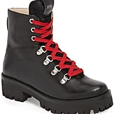 Steve Madden Boom Hiker Boot With Genuine Calf Hair