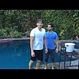 Ashton Kutcher and Wilmer Valderrama