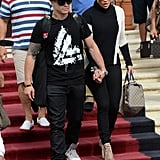 Jennifer Lopez and Casper Smart held hands in Miami.