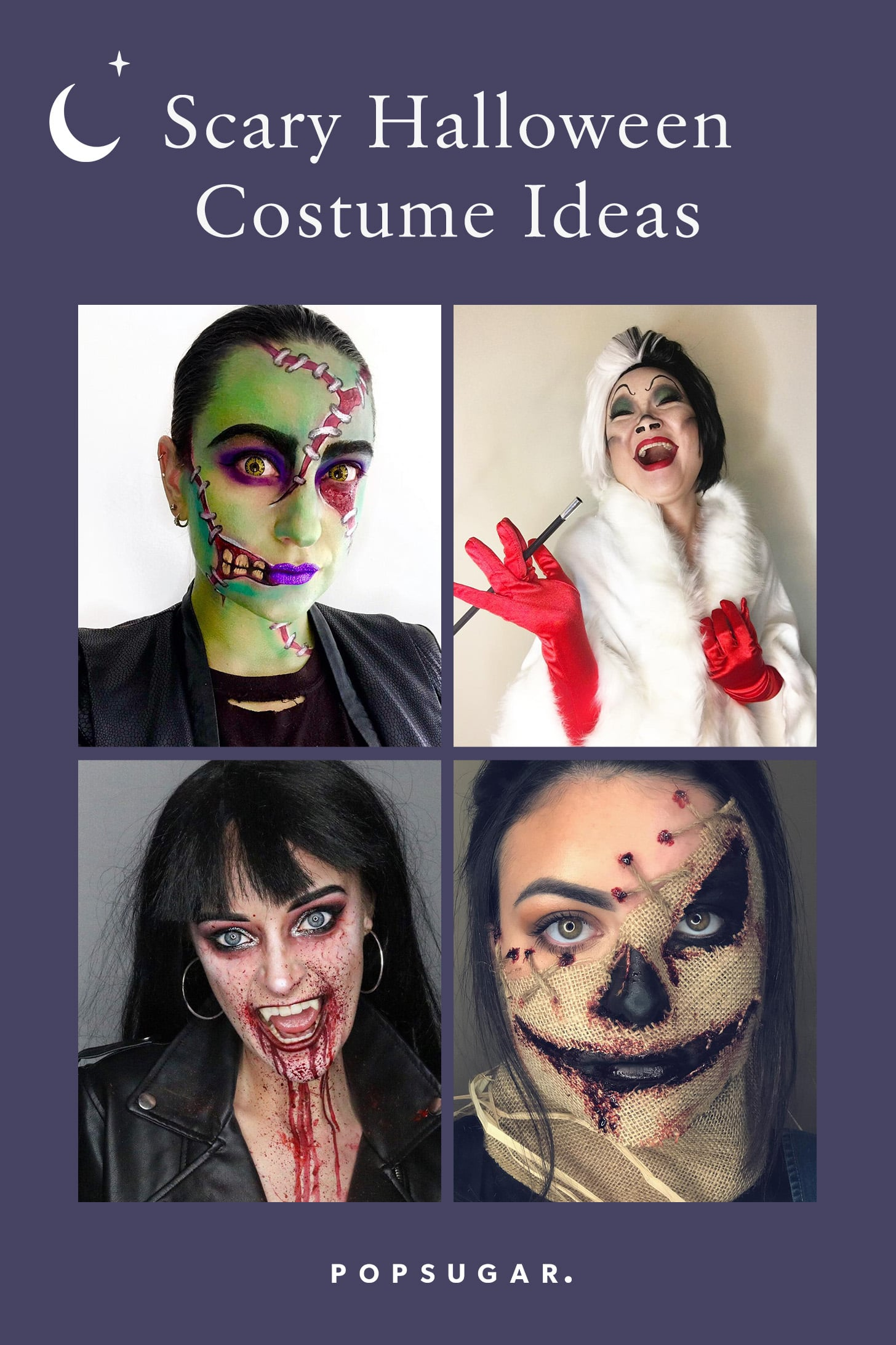 These Diy Scary Halloween Costumes Are Cheap And Terrifying Popsugar Smart Living
