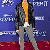 Kaylin Hayman at the Frozen 2 Premiere in Los Angeles