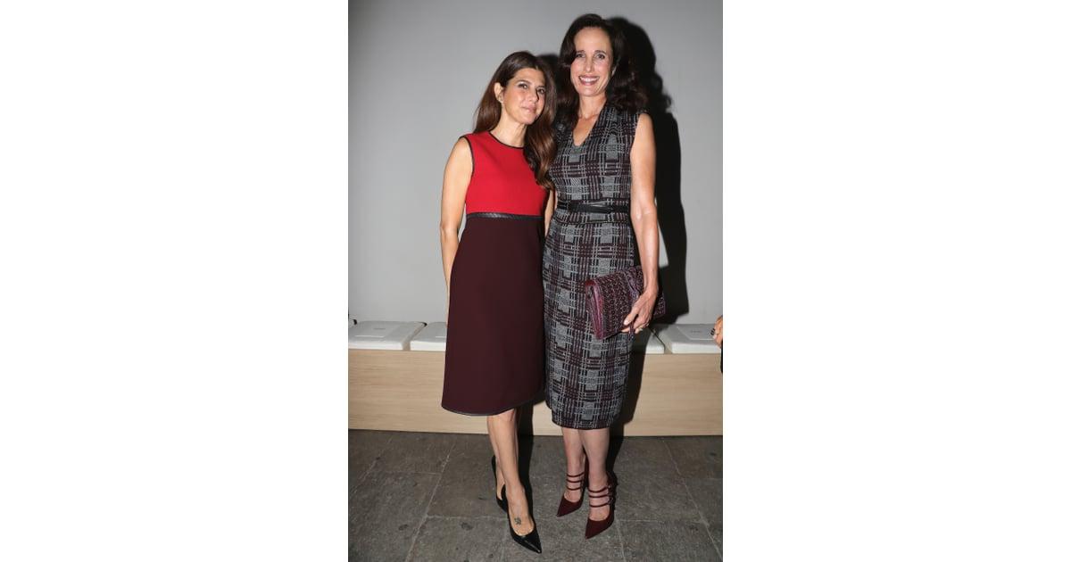 Marisa Tomei and Andie MacDowell