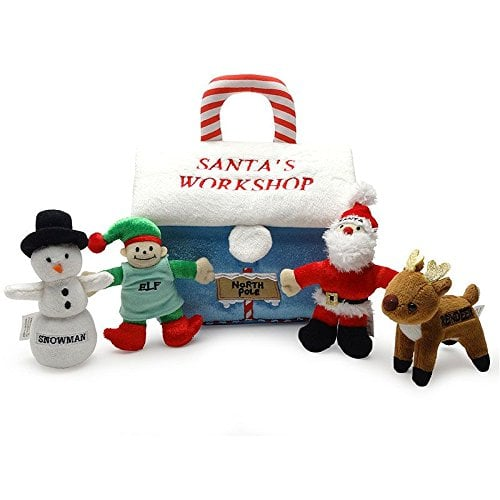 Babys First Christmas Gifts: Baby's My First Christmas Gift Santa's Workshop Playset