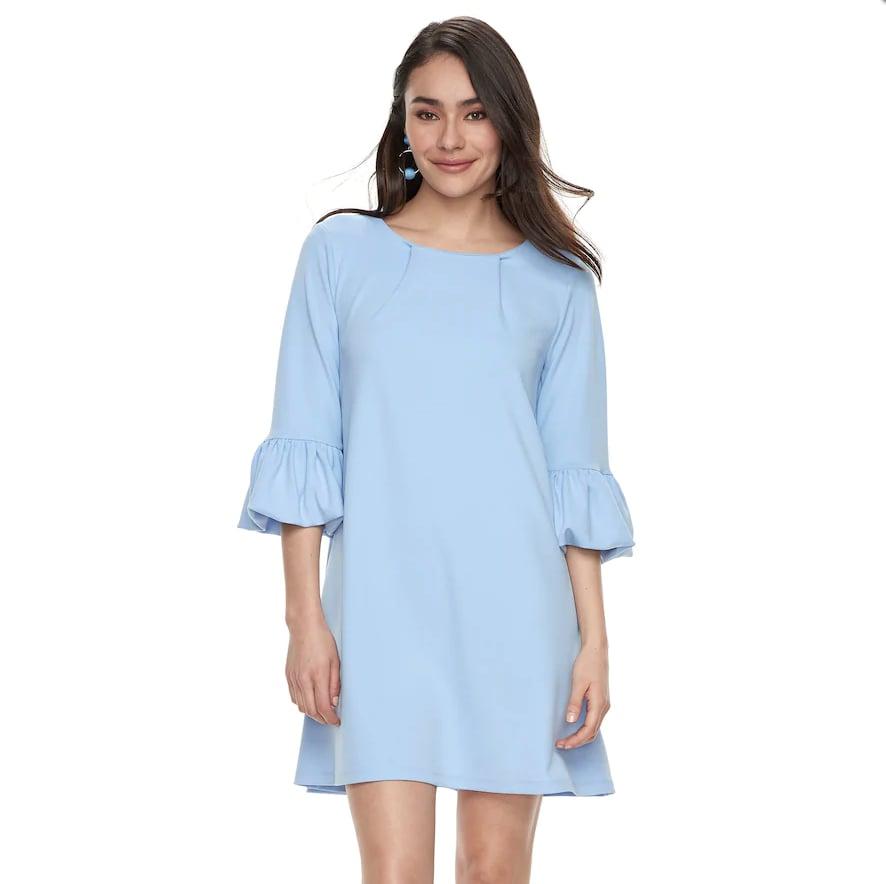 Kohl's Nina Leonard Balloon-Sleeve Shift Dress