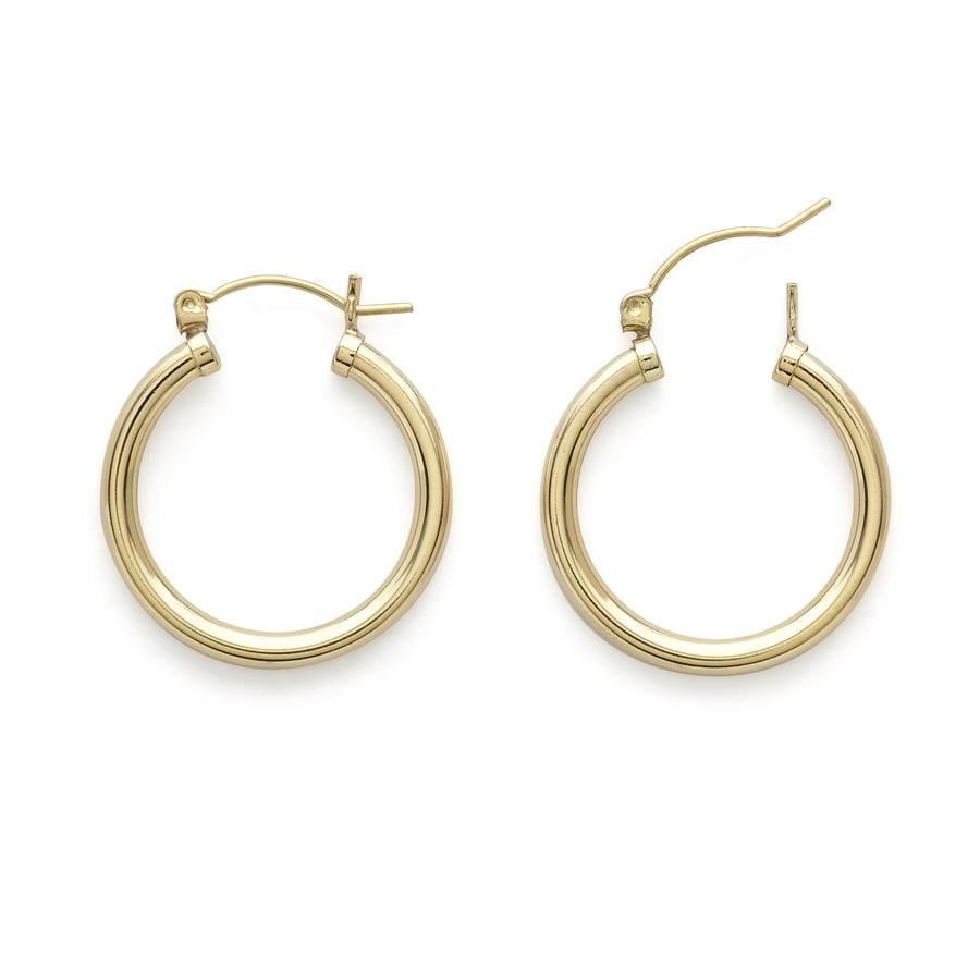 Stella and Bow Jacqueline Hoop Earrings