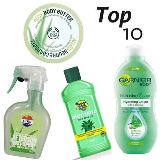 10 of the Best Aloe-Based Beauty Products to Soothe Sunburn