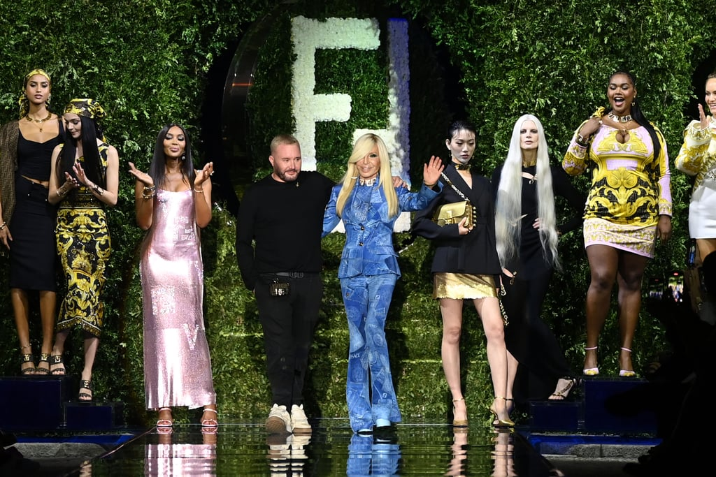 """Versace by Fendi """"Fendace"""" Front Row and Collection Photos"""