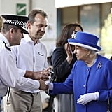 Prince William Queen Elizabeth With Grenfell Tower Victims