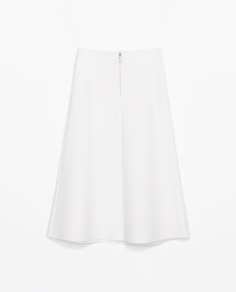 chung white midi skirt and crop top