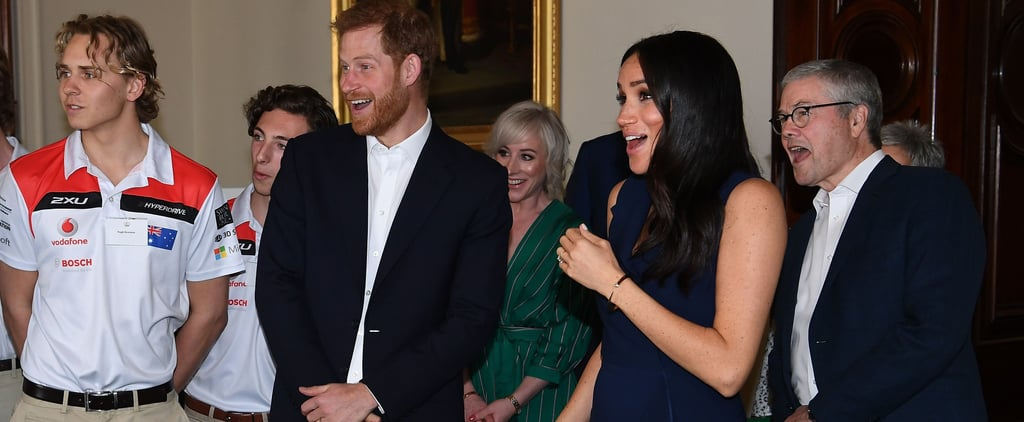 Meghan Markle Gets Scared During Australia Tour