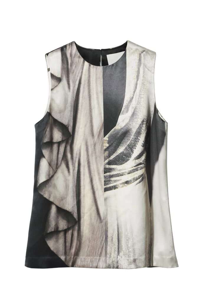 H&M Conscious Collection Hemp and Silk Satin Top ($60)