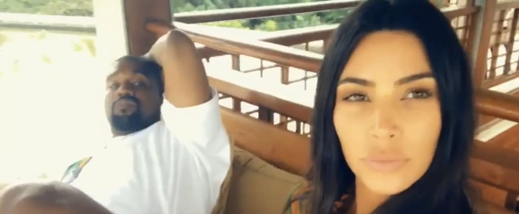 Kim Kardashian and Kanye West's Holiday Photos in Bali 2019