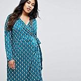 Uttam Boutique Geometric Wrap Dress