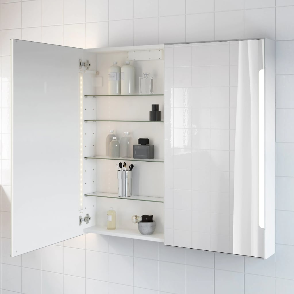 Storjorm Mirror Cabinet With Doors and Light