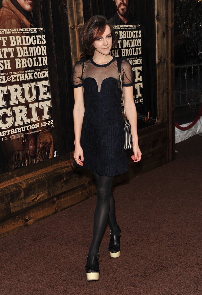 Matt Damon Brings Luciana to Her First Post-Baby Red Carpet at True Grit NYC Premiere